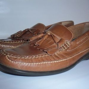 Johnston & Murphy Leather Loafers Mens Size 9.5 M
